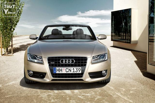 audi a5 cabriolet v6 3 0 tdi gris meteor lorraine. Black Bedroom Furniture Sets. Home Design Ideas