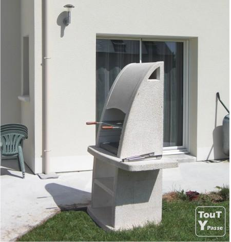 Amazing photo barbecue en beton cellulaire arf impexfire - Barbecue beton cellulaire exterieur ...