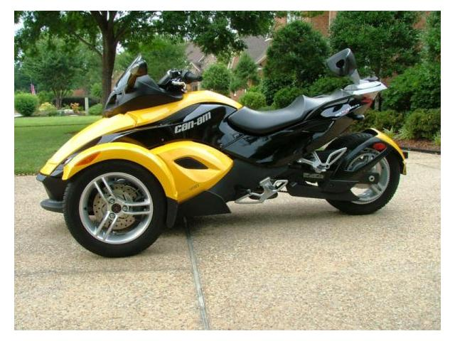 belle can am spyder 5 vitesse 7 reservoir gallon li ge. Black Bedroom Furniture Sets. Home Design Ideas