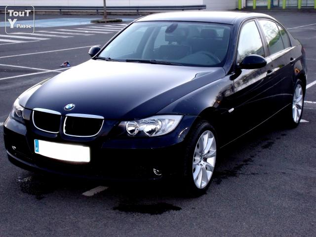 bmw 318d noire 143ch en parfait etat 47800km centre. Black Bedroom Furniture Sets. Home Design Ideas