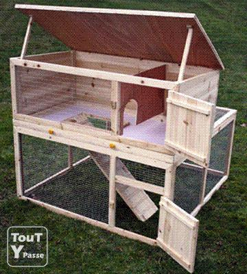 comment construire une cage a lapin en bois la r ponse est sur. Black Bedroom Furniture Sets. Home Design Ideas