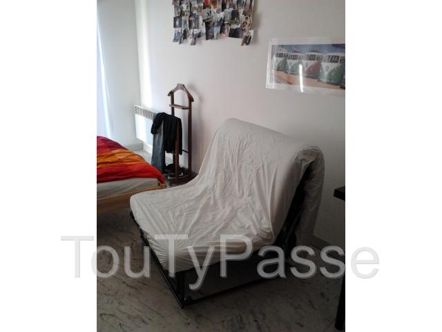 Canap lit clic clac 1 place montpellier 34000 for Clic clac place