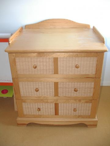 Chambre natalys floride naturel le de france - Table a langer natalys ...