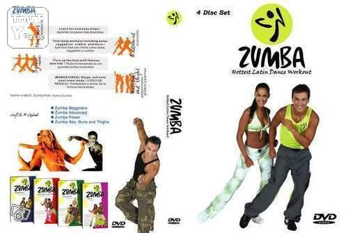 coffret 4 dvd neuf danse zumba fitness a robic provence alpes c te d 39 azur. Black Bedroom Furniture Sets. Home Design Ideas