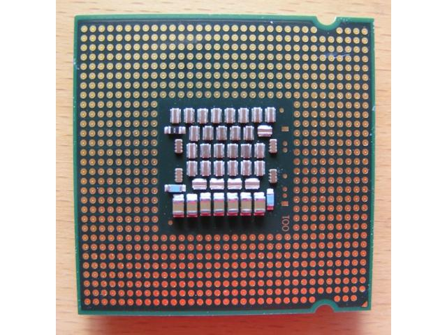 Photo CPU E6600- Processeur Intel Core 2 Duo image 2/2