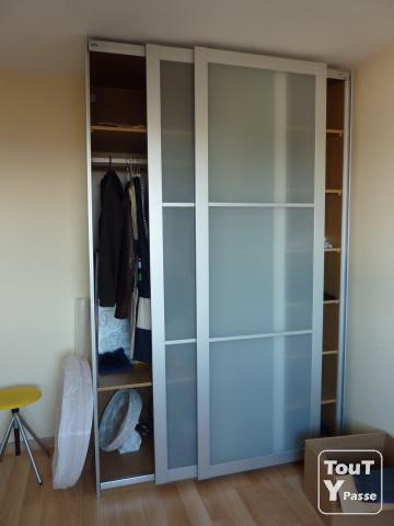 Preview - Porte coulissante dressing ikea ...