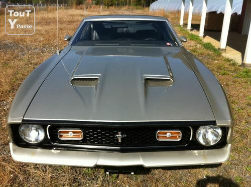 ford mustang 1972 mach1 fastback occasion pas cher. Black Bedroom Furniture Sets. Home Design Ideas