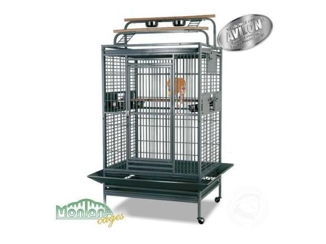 Photo Hacienda Play Perroquet cage Platinium image 2/3