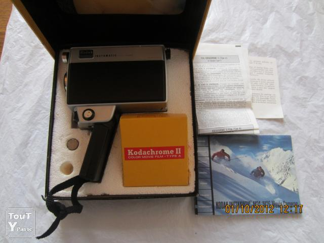 Photo Kodak Instamatic M26 movie camera made in U.S.A. image 2/6