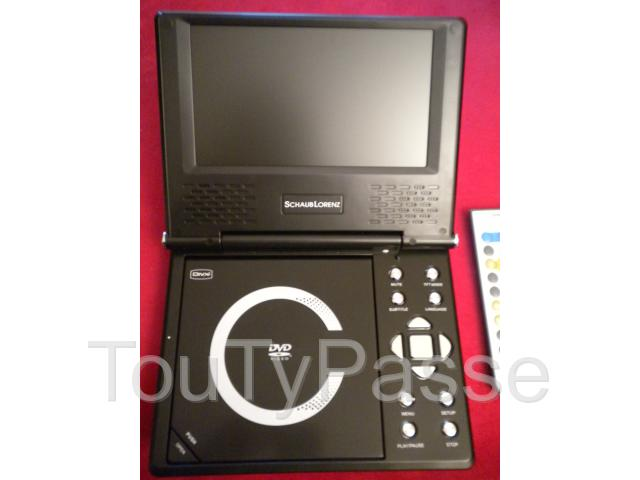 Photo LECTEUR PORTABLE DVD DIVX « Shaub Lorenz » image 2/4