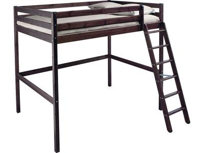 lit mezzanine avec matelas double lille 59000. Black Bedroom Furniture Sets. Home Design Ideas