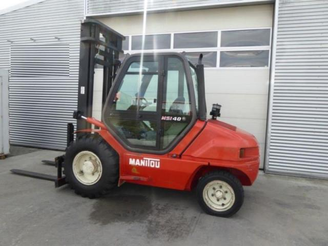 Photo Manitou MSI40 CHARIOT ELEVATEUR image 2/3