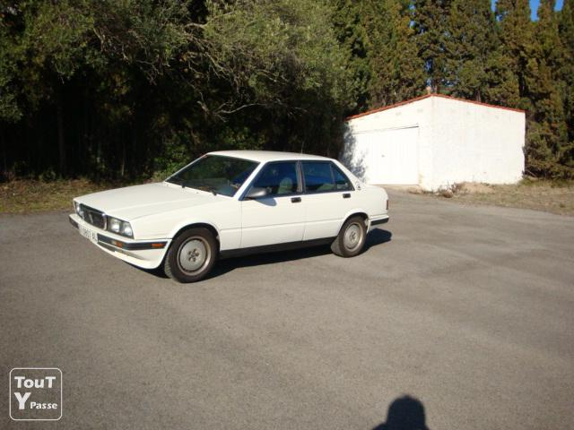 Photo Maserati Biturbo blanc 422 de 1988 image 2/4