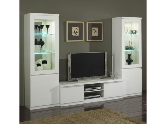 meuble tv vitrine roma champigny sur marne 94500. Black Bedroom Furniture Sets. Home Design Ideas