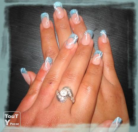 Modelage d ongles en gel pieds mains - Photo ongle gel ...