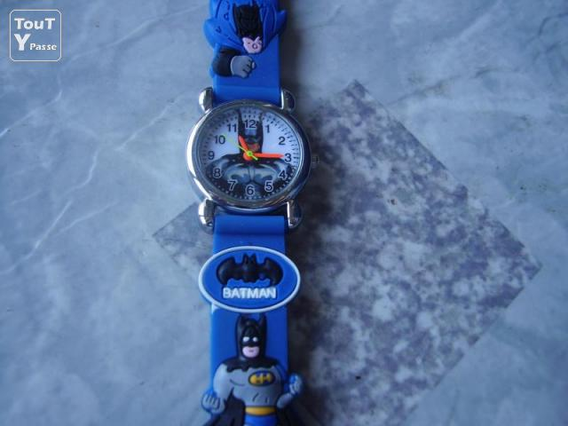 Photo MONTRE ENFANT BATMAN image 2/6