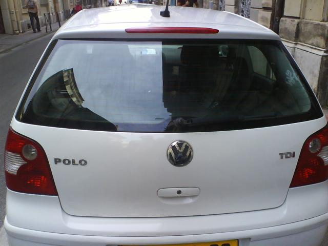 polo iv blanche 1 4tdi 3p 96000km 2003 languedoc. Black Bedroom Furniture Sets. Home Design Ideas
