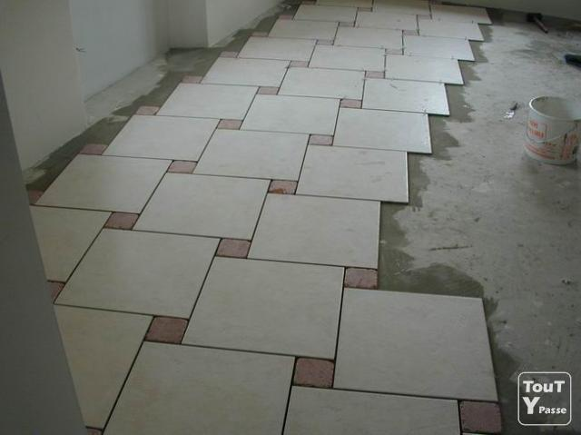 Type de pose carrelage 28 images poser des carreaux for Parquet sur carrelage existant