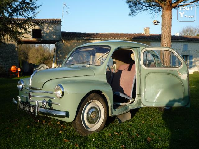 renault 4 cv 1958 r1062 affaires saintes 17100. Black Bedroom Furniture Sets. Home Design Ideas