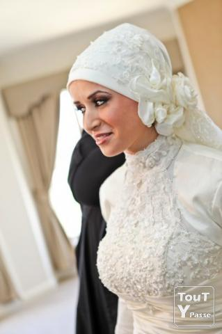 Accessoire Hijab Mariage