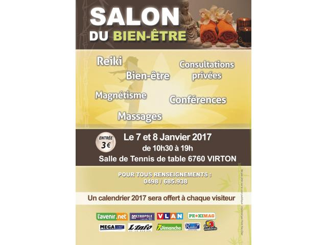 Salon de la voyance et du bien tre virton 2017 arlon for Salon voyance paris