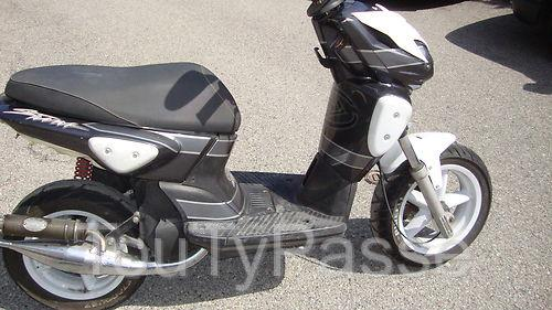 scooter mbk stunt occasion de 2003 manche. Black Bedroom Furniture Sets. Home Design Ideas