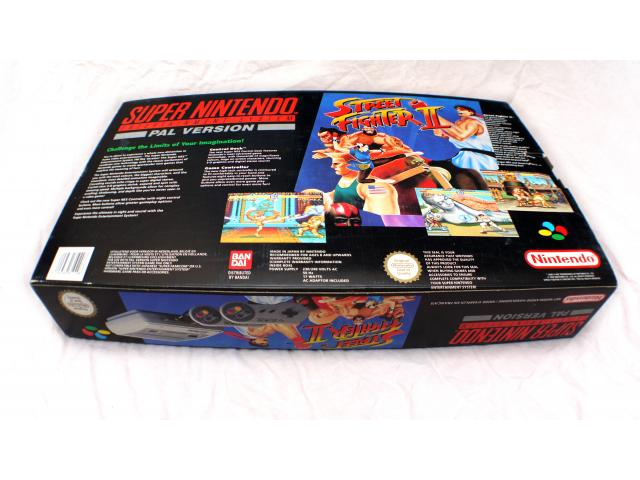 Photo ★★★ Nintendo SNES Street Fighter 2 pack + Scope 6 ★★★ image 2/6