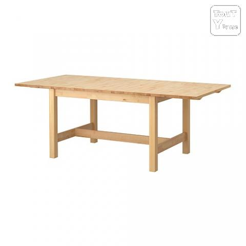 Table manger ikea norden 8 10 personnes aix en for Table a manger 8 personnes