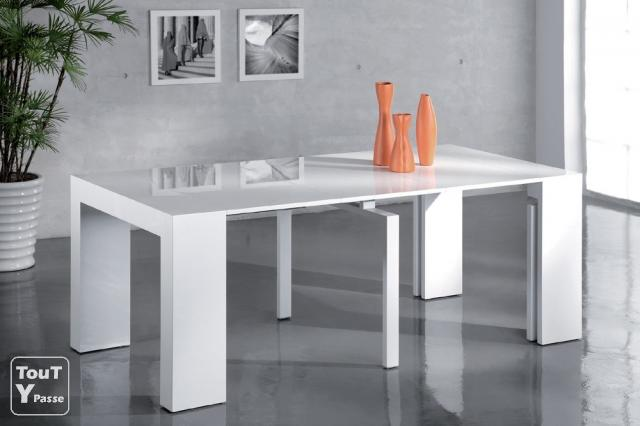 Table Console Extensible Design Transformable 50 Nantes