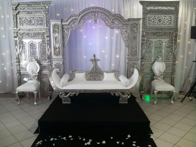 Photo Trone mariage royal image 2/2