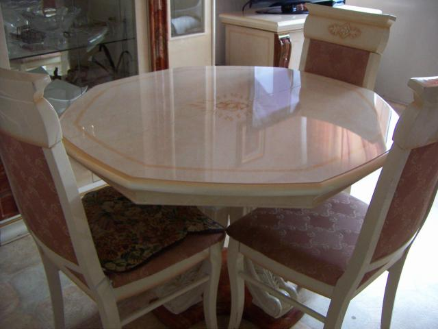 Vend ensemble living meuble de t l table plus 4 chaises en bon tat viry ch tillon 91170 - Table a pizza viry chatillon ...