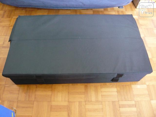 vends canape bz bon matelas son coffre de rangement excellent etat 160 euros paris 12 reuilly 75012. Black Bedroom Furniture Sets. Home Design Ideas