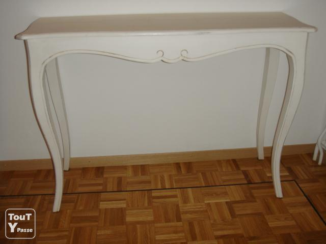 Vente meubles meuble tv console bureau table etc for Meuble tv console