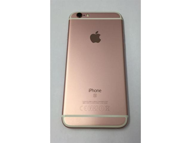 apple iphone 6s plus 128gb rose comme neuf d simlockage frameries 7080. Black Bedroom Furniture Sets. Home Design Ideas