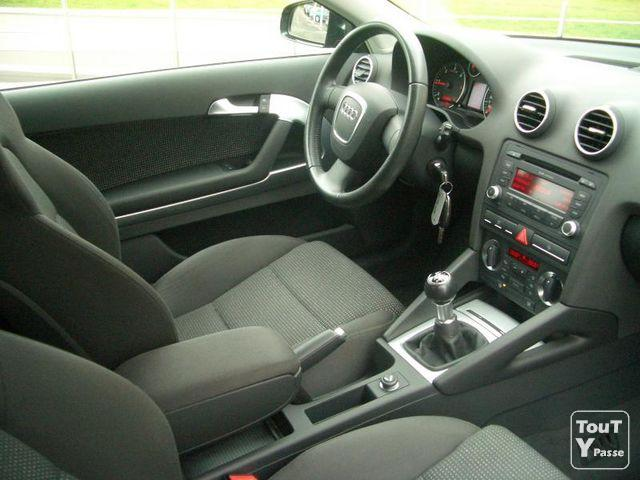 audi a3 ii 2 0 tdi 140 ambition 2007 gironde. Black Bedroom Furniture Sets. Home Design Ideas