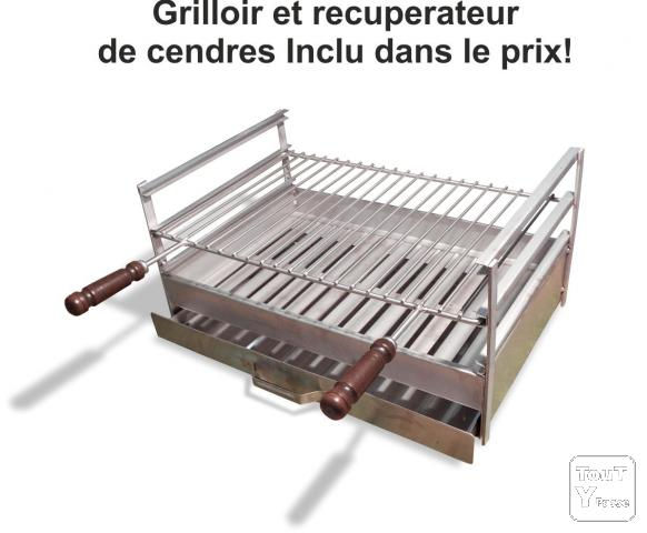 Barbecue en beton cellulaire ar8080f impexfire paris for Plan barbecue en beton cellulaire