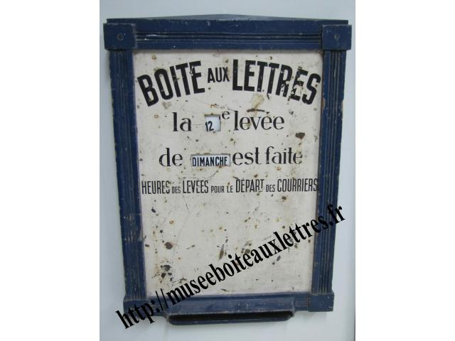 boites aux lettres ptt la poste facteur tampons uniformes cachets oise. Black Bedroom Furniture Sets. Home Design Ideas