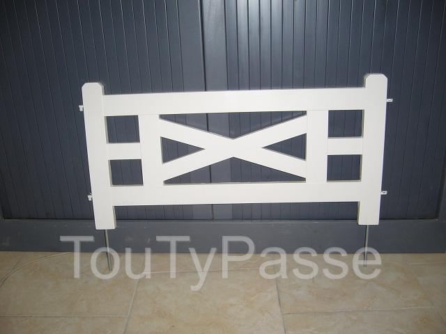 Bordure de jardin en pvc mod le fer forg pictures to pin for Bordures jardin pvc