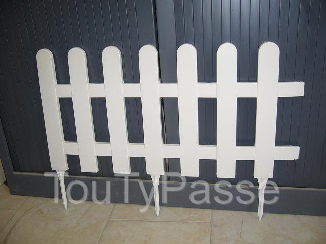 bordure de jardin en pvc modele picnic gard. Black Bedroom Furniture Sets. Home Design Ideas