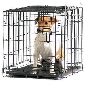 cage caisse transport pliante m tal savic 107cm dog cottage chien chat animaux br viandes 10450. Black Bedroom Furniture Sets. Home Design Ideas