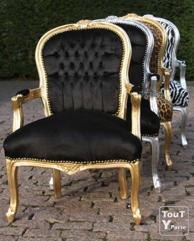 chaise de salon roma neuve style ancien baroque. Black Bedroom Furniture Sets. Home Design Ideas