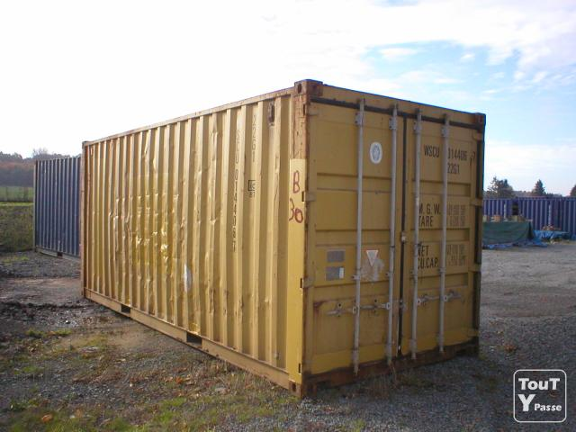 Container marin 6 occasion for Container garage prix