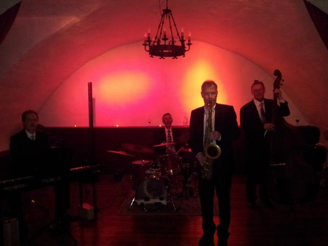 Photo Jazz Band Chateau Chillon Lake Geneva Wedding band Montreux Switzerland image 3/6