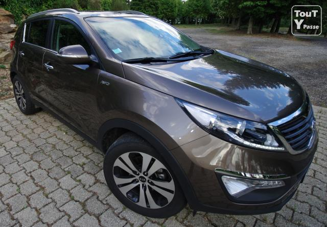 kia sportage iii 2l 136 ch 4x4 premium navigation languedoc roussillon. Black Bedroom Furniture Sets. Home Design Ideas