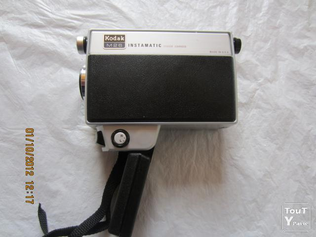 Photo Kodak Instamatic M26 movie camera made in U.S.A. image 3/6