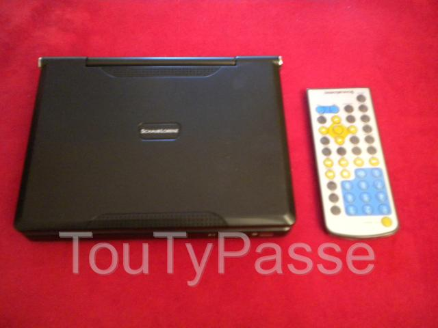 Photo LECTEUR PORTABLE DVD DIVX « Shaub Lorenz » image 3/4