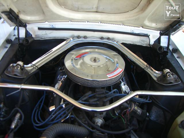 Photo Loue Ford Mustang V8 1968 image 3/5