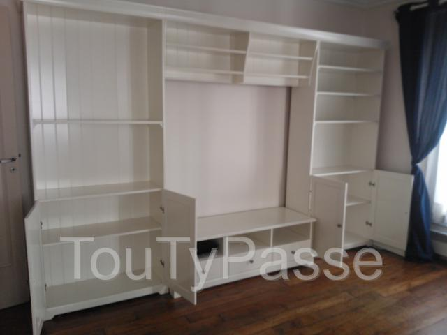 Meuble salon blanc ikea saint paul 13 - Ikea meuble bibliotheque ...