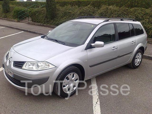 renault megane ii 2 estate 1 9 dci 130 fap expression. Black Bedroom Furniture Sets. Home Design Ideas
