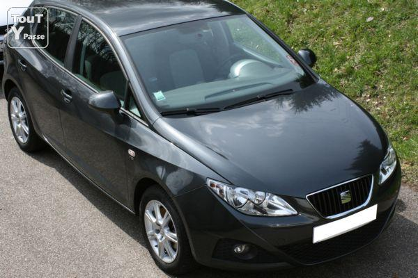 seat ibiza 1 9 tdi stylance 105 cv mars 2009 gris track lorraine. Black Bedroom Furniture Sets. Home Design Ideas